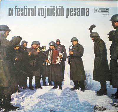 Deveti festival vojnickih pjesama JNA.