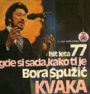 Bora Spuzic Kvaka izgleda ko da je propovjednik.