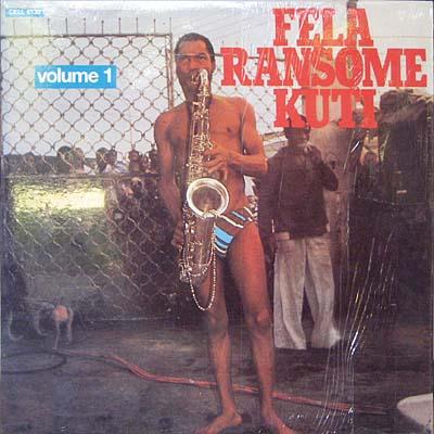 Fela Kuti in Speedos