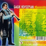 Gagik Hovsepian back cover