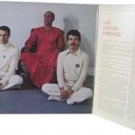 Carlos Santana meditating