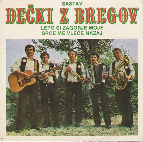 Album cover for Decki z bregov