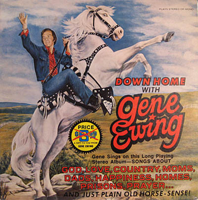 Gene Ewing record cover