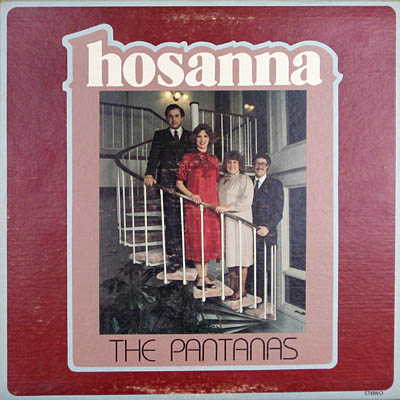 The Pantanas album cover for Hosanna