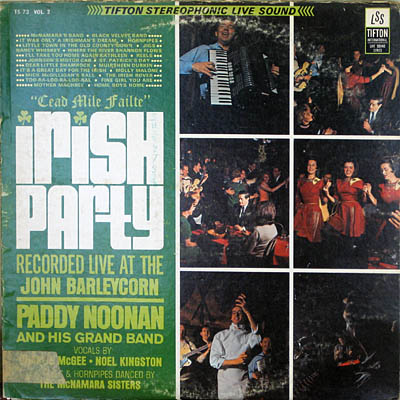 Paddy Noonan and the Irish Party record cover