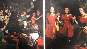 Paddy Noonan and the Irish Party record cover dance photo