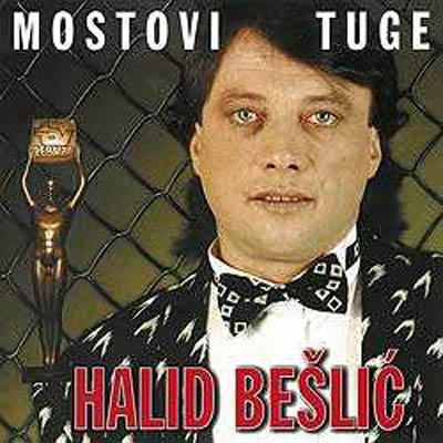 Halid Beslic record cover for Mostovi tuge