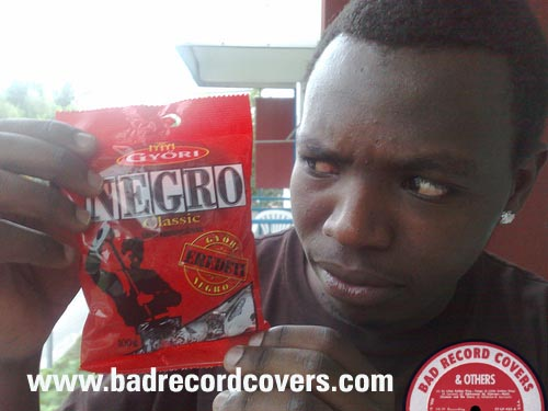 Negro candy  in Africa