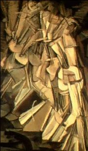 A Nude Descending the Staircase by Duchamp