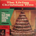 Jerry Falwell The Living Christmas Tree record cover