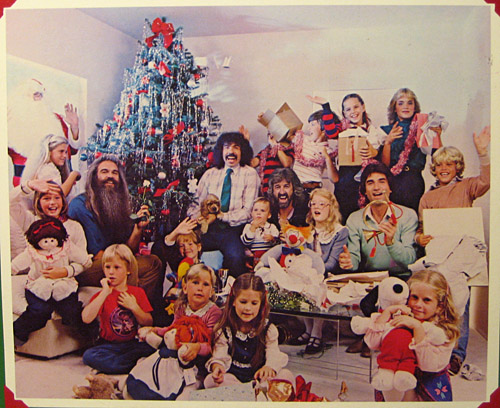 The Oak Ridge Boys celebrating Christmas with Family.