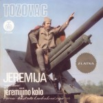 Insane record cover art by Serbian singer Tozovac. He is sitting on a canon.