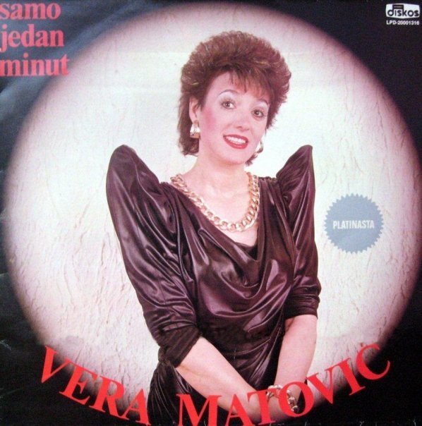 Vera Matovic record cover where she looks like an East European Batwoman.